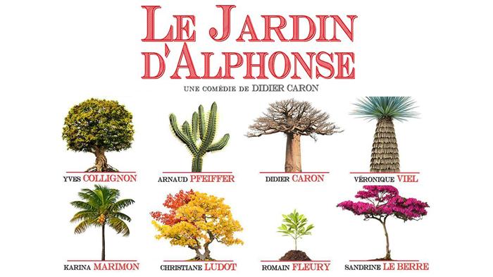 Le jardin d 39 alphonse th tre michel invitations pour for Le jardin d alphonse