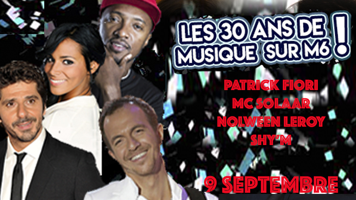 30 ans de musique avec m6 palais des sports porte de versailles invitations pour 30 ans de. Black Bedroom Furniture Sets. Home Design Ideas