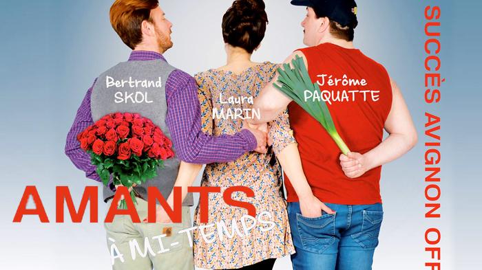 Amants à Mi Temps Invitations Théâtre Le Mélo D Amélie