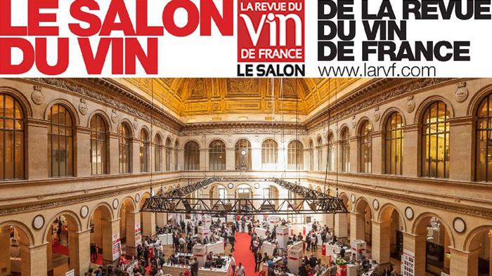 Salon de la revue du vin de france au palais brongniart for Salon des vins de france