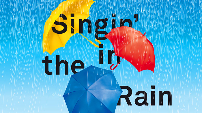 SINGIN'IN THE RAIN - SOUS LA NEF DU GRAND PALAIS !